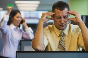 шум в офисе влияет на продуктивность