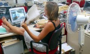 жара в офисе снижает продуктивность